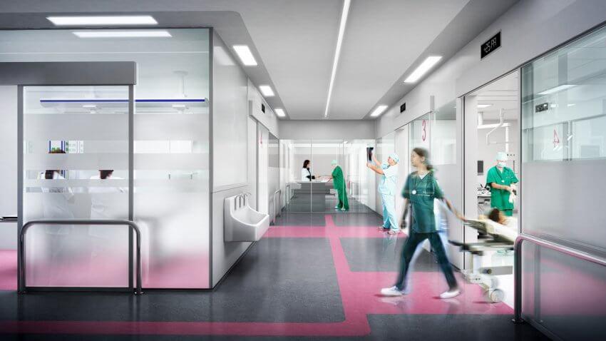 H Pital Michallon Blocs Op Ratoires Et Unit De Chirurgie